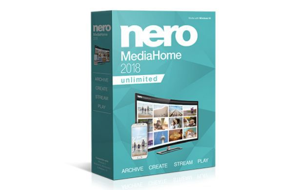 Nero MediaHome 2018 (Lifetime Lizenz, Windows) gratis