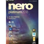 Nero Platinum 2018 Box Windows für 39,99€ (statt 64€)