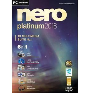 Nero Platinum 2018 Box Windows für 29,99€ (statt 39€)