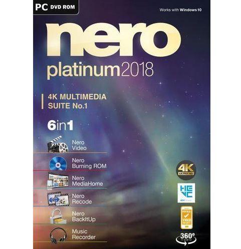 Nero Platinum 2018 Box Windows für 29,99€ (statt 39€)