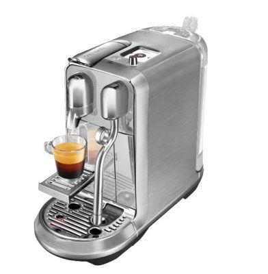 Nespresso Creatista Plus Kaffemaschine mit Steam Pipe für 333€ (statt 469€)