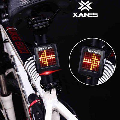 XANES STL 01   Intelligentes Fahrradrücklicht mit Blinker & mehr für 10,45€