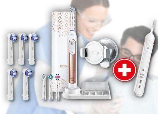 Oral B Genius 9000S Rosegold Elektrische Zahnbürste + GRATIS Precision Clean 4+1 für 105,30€ (statt 140€) + 25€ Cashback