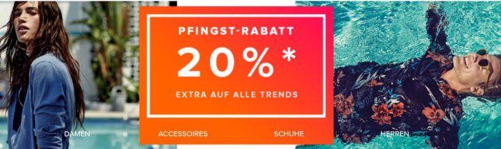 dress for less Pfingst Sale mit bis 65% Rabatt + 20% Extra Rabatt bis Mitternacht