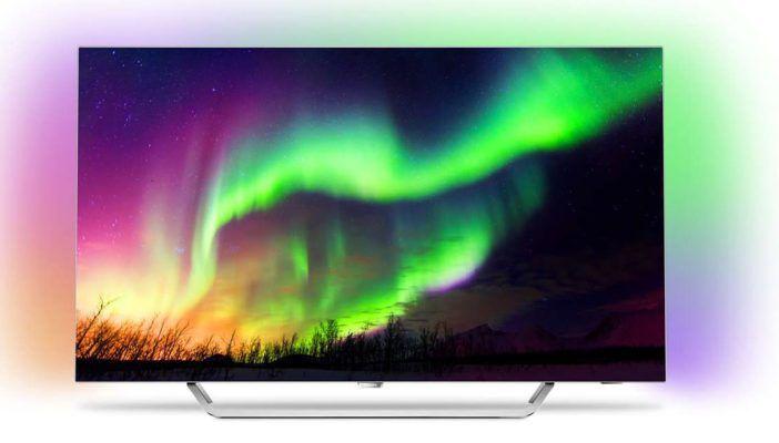 Vorbei! Philips 65OLED873/12 Ultraflacher 4K UHD OLED TV mit Ambilight für 2.299€ (statt 3.500€)