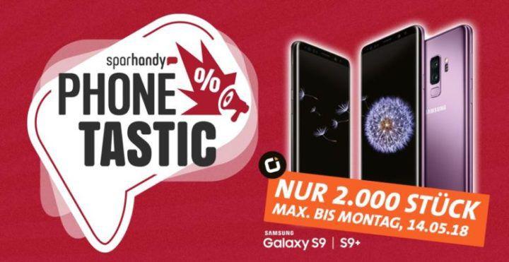 Samsung Galaxy S9 oder S9 Plus ab 19€ + Otelo Allnet  & SMS Flat inkl. 8GB Daten für 29,99€ mtl.