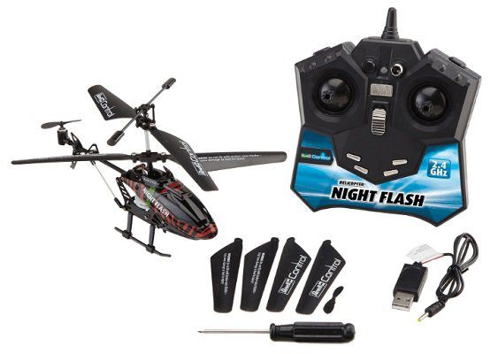 REVELL RC Construction Kit NIGHT FLASH Helicopter für 20€ (statt 30€)