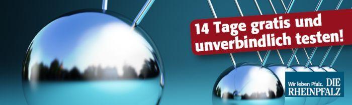 Die Rheinpfalz Zeitung 14 Tage gratis testen – endet automatisch