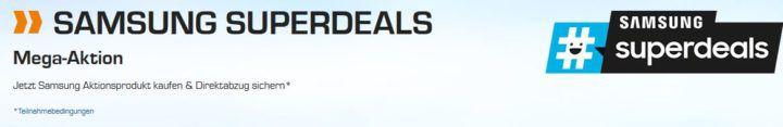 Saturn Samsung Super Deals: günstige Haushalts Großgeräte   z.B. SAMSUNG Kühlgefrierkombination für 804€ (statt 875€)