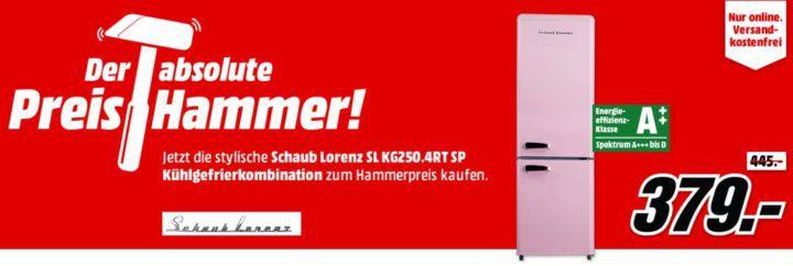 SCHAUB LORENZ SL KG250.4RT S   Kühl  u. Gefrierkombie 250l mit A++ für 379€
