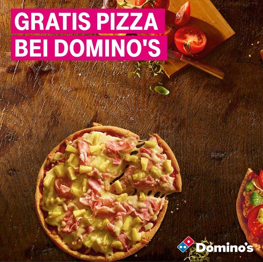 Nur für Telekom Kunden: Classic Pizza bei Dominos geschenkt