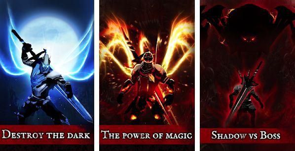 Shadow of Death: Stickman Fighting   Dark Knight (Android) gratis statt 0,99€