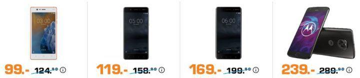 Saturn Late Night: günstige Smartphones & Monitore