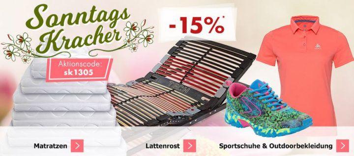 Karstadt Sonntags Kracher mit 15% Rabatt auf Daniel Wellington Uhren, Outdoorbekleidung und Schuhe