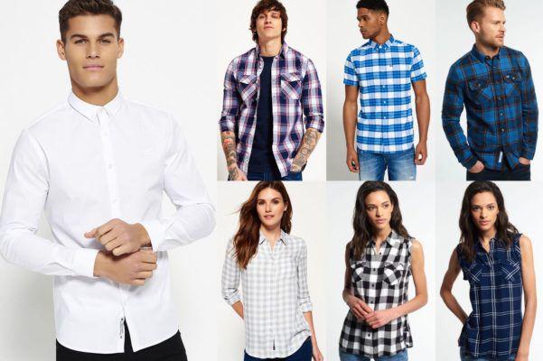 Superdry Herren und Damen Hemden neue Modelle ab 26,95€