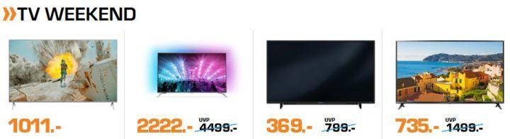 Saturn Weekend XXL Sale günstige Action Cams, TVs, Haushaltsangebote und mehr ..