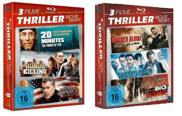 Thriller Movie Night Blu ray für 6,00€ (statt 10€)