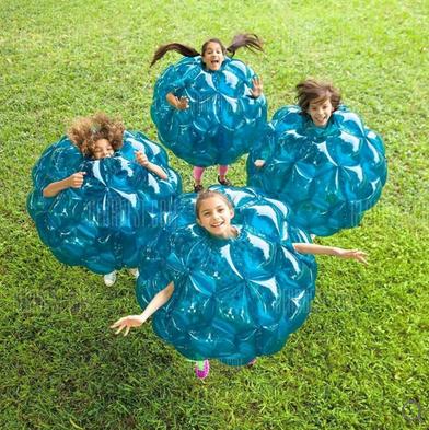 Aufblasbarer Body Bumper Ball für 29,89€