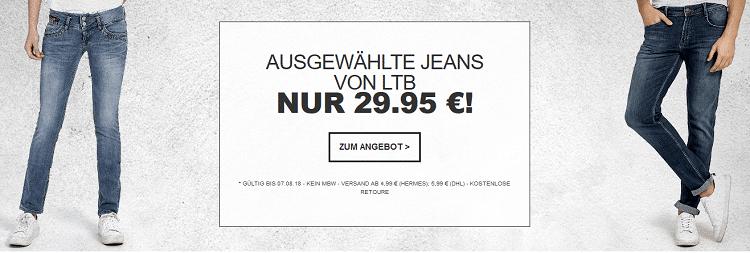 Ausgewählte LTB Jeans bei Jeans Direct ab 29,95€