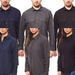 TEXSTAR Oxford Hemden für Damen & Herren für je 12,99€