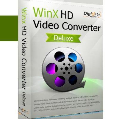 WinX HD Video Converter Deluxe (Lifetime Lizenz, Windows) gratis