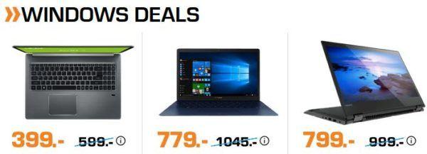 Saturn Late Night: günstige Notebooks & Zubehör z.B. LENOVO Yoga 520 Convertible für 799€ (statt 919€)