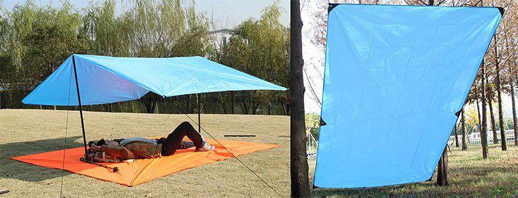 Bluefield   wasserdichte Decke / Plane (3 x 2,2m) mit Ösen für 9,99€