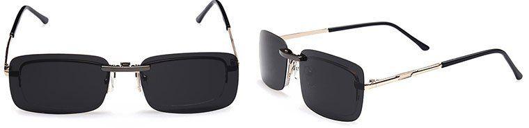Clip für die Brille: polarisierter Aufsatz für 2,98€