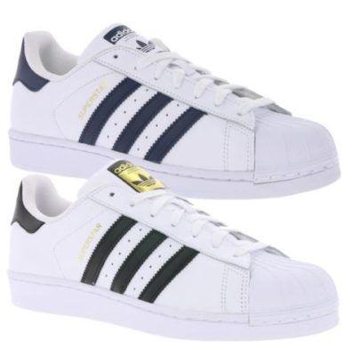 adidas Originals Superstar weiße Herren Sneaker für 69,99€