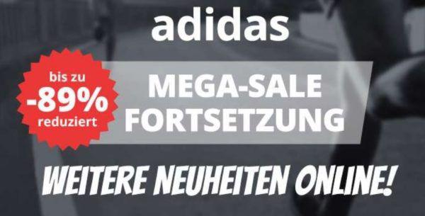 Neu: adidas Sale bei SportSpar bis zu 89% Rabatt + 5€ Gutschein ab 50€