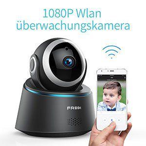 FREDI FR IP8088   Schwenkbare WLAN Cam für 26,49€ (statt 53€)