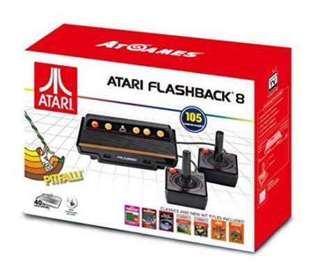 Atari Flashback 8   Retro Spielekonsole mit 105 Spielen und 2 Joysticks für 39€ (statt 64€)