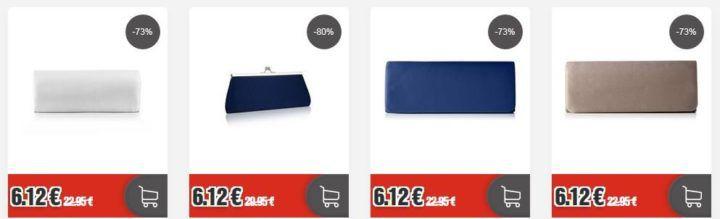 Berydale Damen Handtaschen, Clutches für je 6,12€ (statt 20€) MBW 12,12€