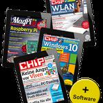 3 Monate E-Paper CHIP + MagPi + Sonderhefte für 17,97€ + 10€ Amazon Gutschein