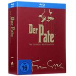 Godfather – Der Pate Trilogie The Coppola Restoration Version [Blu-ray] für 20€