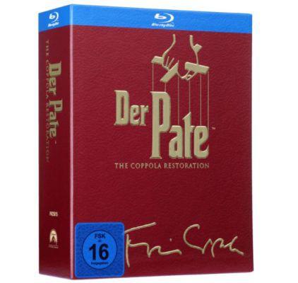 Godfather   Der Pate Trilogie The Coppola Restoration Version [Blu ray] für 20€