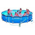 Intex Metal Frame Pool (28202GN) mit 305x76cm inkl. Filterpumpe für 71,59€ (statt 89€)