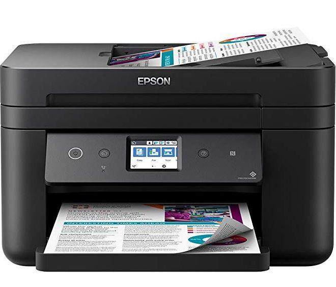 Epson WorkForce WF 2860DWF   color Tinten Multifunktionsdrucker für 69€ (statt 80€) + Gratis Patrone