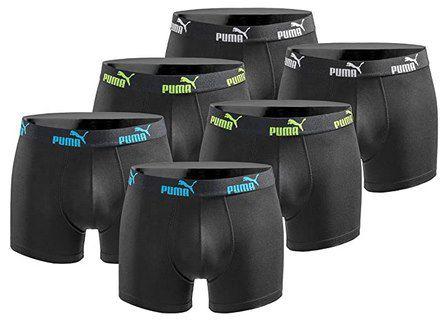 6er Pack Puma Basic Limited Black Edition Boxershorts für 29,99€ (statt 38€)