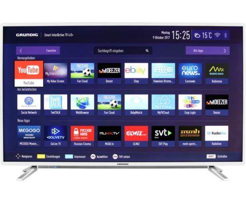 Grundig 55 GUS 8768   55 Zoll UHD Smart TV für 449€