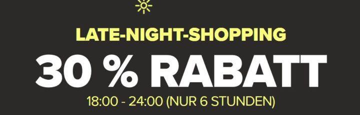 Top! Crocs Late Night Sale mit 30% Rabatt auf (fast) Alles + VSK frei bis Mitternacht