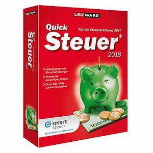 Lexware Quicksteuer 2018 (Download Version) für 7,99€ (statt 11€)