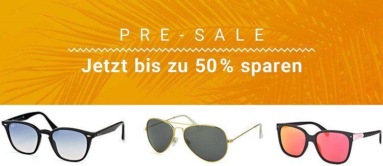 Mister Spex Sale mit bis zu  50% auf Sonnenbrillen