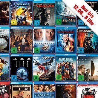 MediaMarkt: 10 Blu rays kaufen   nur 50€ bezahlen
