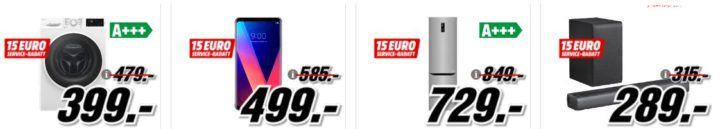 Media Markt Mega Marken Sparen: günstige Artikel von LG, Telefunken, JBL und Asus