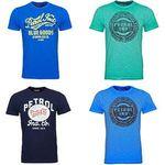38 Petrol Industries T-Shirts mit Motiv für je 13,49€