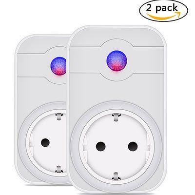 Leyuee WiFi Steckdosen Doppelpack mit App  & Echo Unterstüzung für 19,49€ (statt 39€)