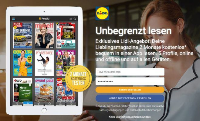 2 Monate Readly Magazin Flatrate kostenlos (statt 19,97€) last Minute Muttertags Geschenk?