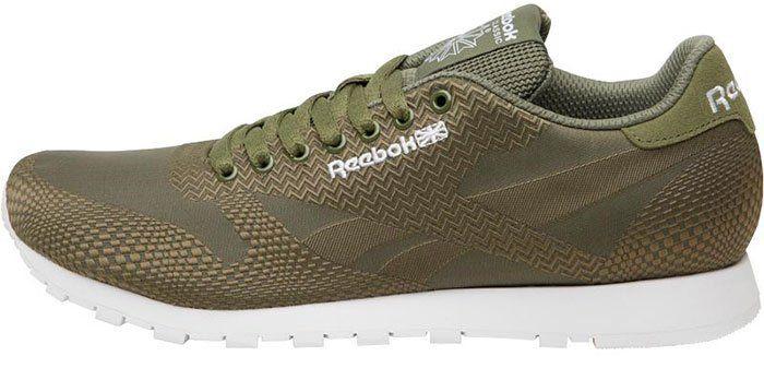 Reebok Classics Herren Runner Jacquard Sneaker in Grün für 31,44€ (statt ~50€)