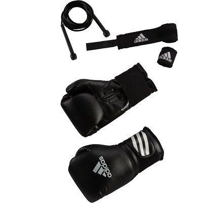 adidas Boxhandschuhe + Springseil für 24,99€ (statt 38€)